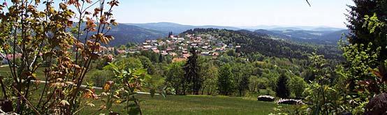 Anfahrt nach Mauth-Finsterau im Bayerischen Wald